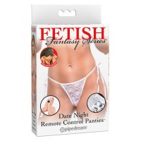 Remote Control Panties White